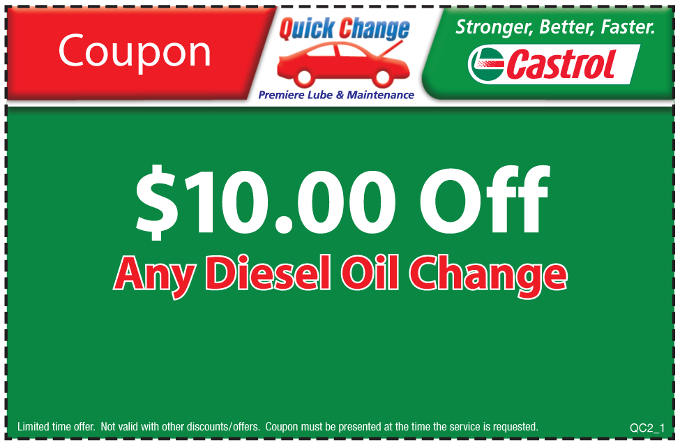 $8 Off Castrol Ultra Clean Syn Blend Oil Change