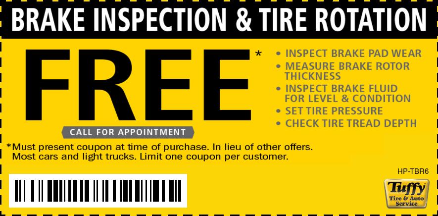 FREE Brake Inspection W/Rotation