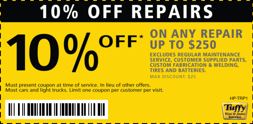10% OFF Any Repair Up To $250