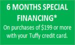 Tuffy 6 months