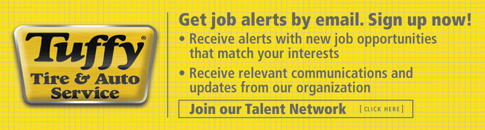 Tuffy Jobs....Join the Talent Network